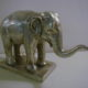 AT-BRJ.089A Elefant in Handguss-Bronze  mit R